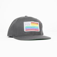 Subpop hat snapback rainbowflag 01