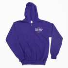 Subpop hoodie kids purple 01