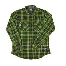 Subpop evergreenflannel green 01