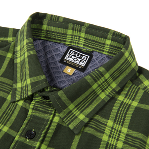 Subpop evergreenflannel green 02