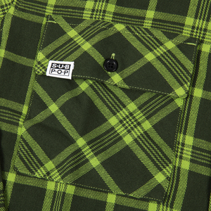 Subpop evergreenflannel green 03