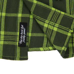 Subpop evergreenflannel green 05