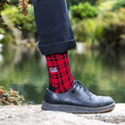 Subpop socks flannel 01