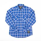 Subpop flannel blue 01