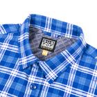 Subpop flannel blue 02