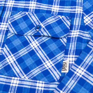 Subpop flannel blue 03