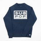 Subpop sweatshirt subfuzz navy 01 v2