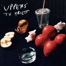 Tv priest uppers album art 3000
